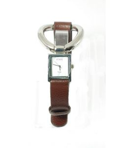 Anaii Pink 'Style' Brown Strap Ladies Fashion Watch