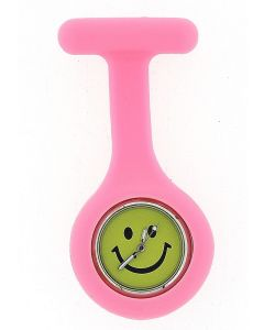 Boxx Baby Pink Smiley Face Infection Control Gel Professional Fob Watch Boxx103