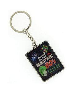 "Celebrations ""Born In The Electric 80's"" Keyring In Presentation Box SP447"