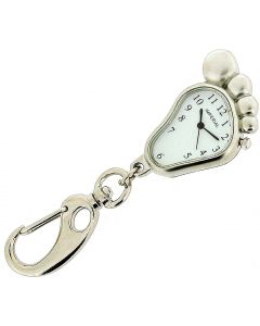 GTP Unisex Novelty Big Foot Clock Keyring An Ideal Gift For Him Or Her IMP707