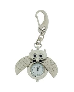 GTP Unisex Novelty Hooting Night Owl Clock Keyring The Ideal Gift IMP742