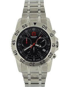 Swiss Military Catalina Chronograph All Stainless Steel Gents Watch SM06-56B