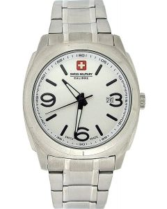Swiss Military Peace Gents Date All Stainless Steel Sports Watch SM06-5P1W