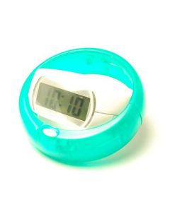 Green Ring Digital Alarm Clock with Snooze and Backlight RAC01