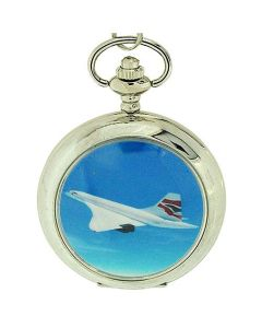 Boxx Gents British Airways Concord Pocket Watch on 12 Inch Chain Boxx89